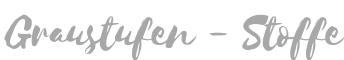 Graustufen-Stoffe-Logo
